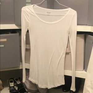 Target mossimo white long sleeve size M